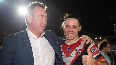 Cooper Cronk is one man in particular Roosters coach Trent Robinson has been missing this season.
