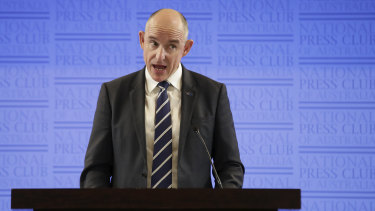 NDIS Minister Stuart Robert said he had ordered a review into NDIA board members' email use and had instructed them to use government addresses.