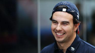 Sergio Perez will not race at Silverstone because of the coronavirus.