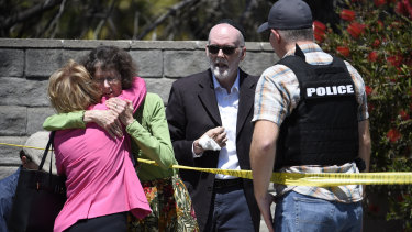 Multiple people were wounded at the Chabad of Poway Synagogue, near San Diego.