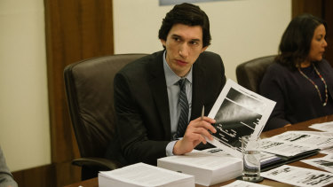 Adam Driver as Daniel J. Jones in The Report.