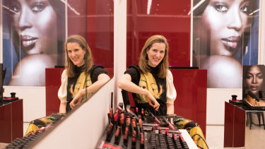 Mecca founder Jo Horgan is looking to skincare rather than lipstick sales.