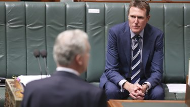 "Attorney-General Christian Porter claimed Labor's claims had ""jumped the shark""."