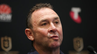 "V'landys and Stuart sat down on Friday to talk about how the Raiders are often ""forgotten"" in comparison to Sydney clubs, as well as the six-again incident."