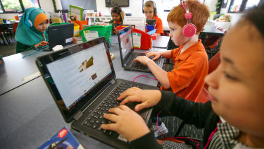 All Australian schools are expected to run the online test next year.