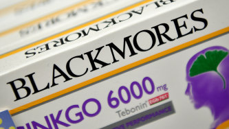 Blackmores reported a poor half year result and appears to be under-performing compared to its competitors.