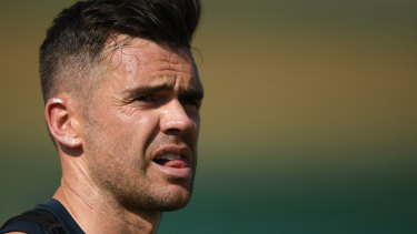 James Anderson could be dropped for the first Test against Pakistan.