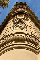 Ready for a reno? A detail of the Chief Secretary's Building in Phillip Street, Sydney.