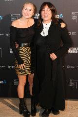 Grace Tame & Kate Ceberano AGNSW Archibalds Opening Night