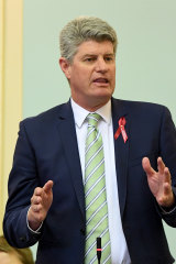 Minister for Local Government Stirling Hinchliffe told Parliament there was no way for the Ipswich council to continue in its current form.