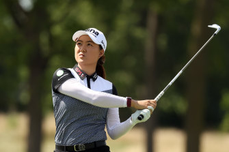Minjee Lee is tied for fifth after round one of the LPGA Tour's return event in Ohio.