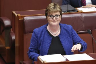 NDIS Minister Linda Reynolds.