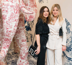 Kristin Fisher and Kate Bond at the Dior cocktail launch for its Couture Cruise 2019 Collection.