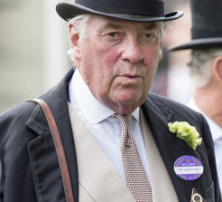 Lord Vestey at Royal Ascot at Ascot Racecourse on June 16, 2015