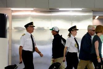 Qantas is scrambling to train pilots as planes get ready for take off post-lockdown.