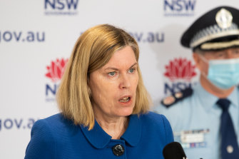 NSW Chief Health Officer Kerry Chant has given one of her most stark warnings of the pandemic.