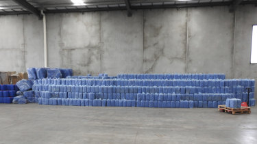 A crime syndicate attempted to smuggle more than six million cigarettes into Australia.