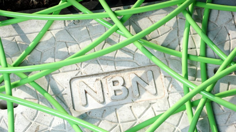 The NBN is a far greater financial challenge.