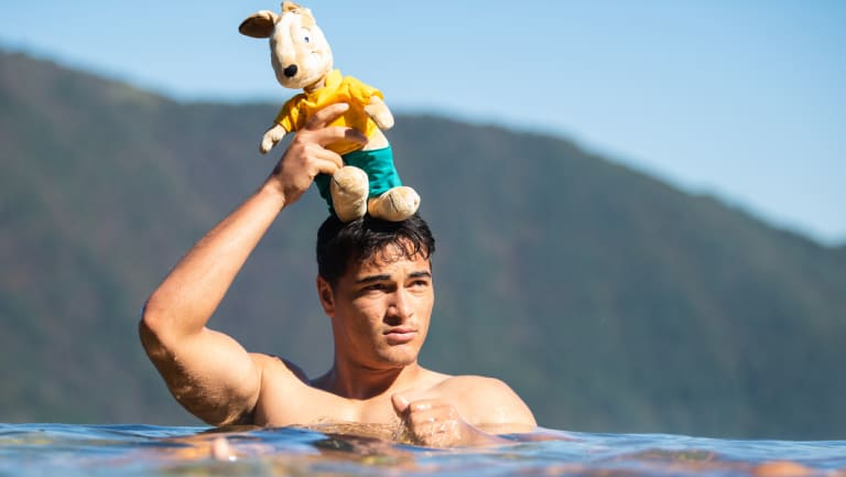 Young blood: Will Cheika still use the Italy Test to debut Wallabies youngster Jordan Petaia?