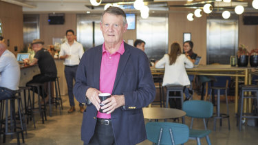 Founder of Mayne Advisory, Peter Mayne, is a new type of coworking space member.