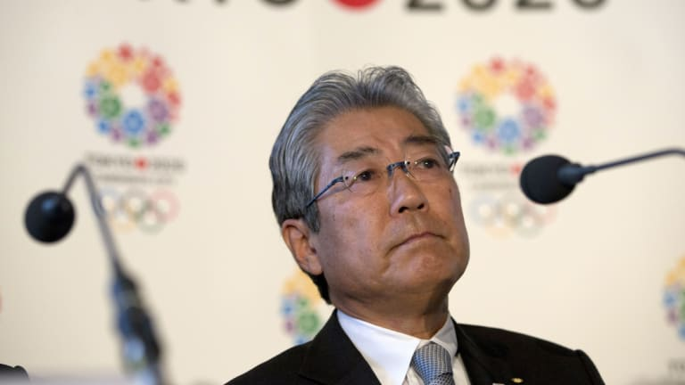 Under formal investigation: Tsunekazu Takeda, president of the Japanese Olympic Committee.