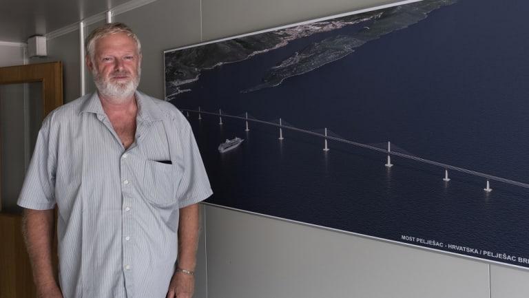 Jeroslav Segedin, civil engineer with Croatia Roads.