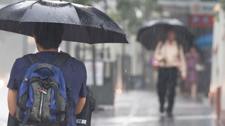 Heavy rainfall has been dumped across Queensland.