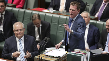 Attorney-General Christian Porter scolded his own department over its handling of the foreign influence register.