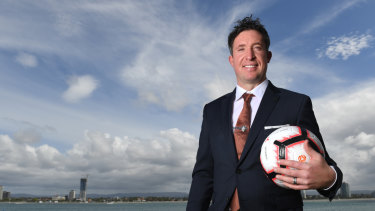 Point to prove: Robbie Fowler is out to prove his coaching credentials in Australia.
