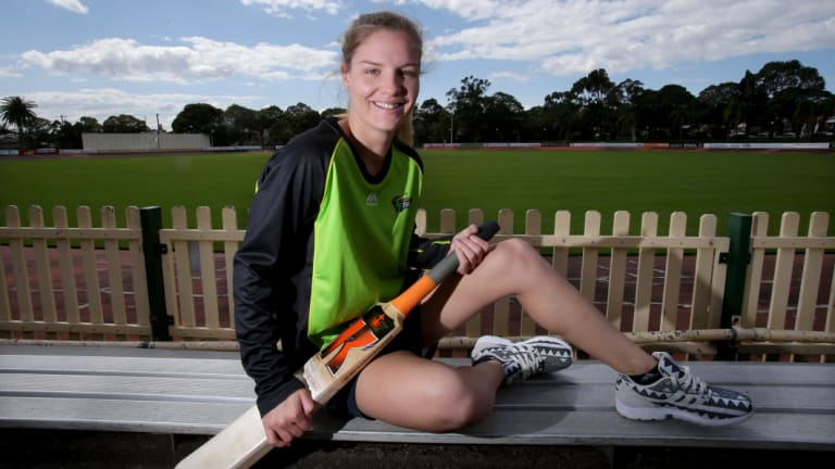 Nicola Carey wants to make her mark in world cricket.