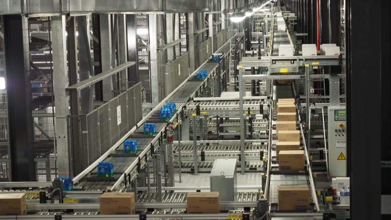 The new Coles warehouses will include state-of-the-art automation technology.