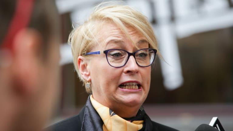 Lord mayor Sally Capp.