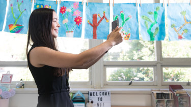 Year 5 teacher Jessica Stedman earns money from selling the resources she makes and promotes on Instagram.