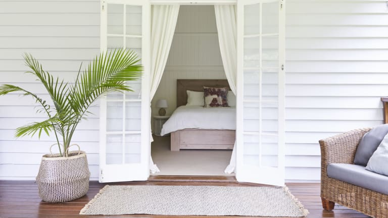 Silverton's Bangalow property, Mahalo, offers a quintessential Byron escape.