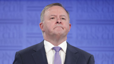 "Anthony Albanese said he was ""not interested in excuses"" for the election result."
