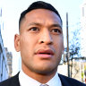 Israel Folau signs with Super League club Catalans Dragons