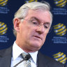 Lowy says independence is in peril as he steps down