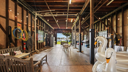 Australia's most expensive private boat shed hits the market
