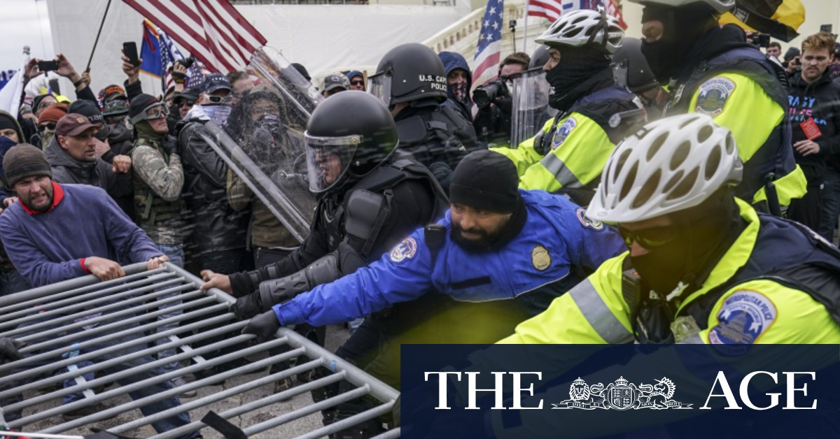 Image of article 'This is sedition': US business leaders condemn Capitol Hill chaos'