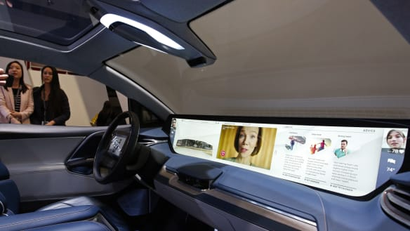 In-car displays get super-sized as tech takes over