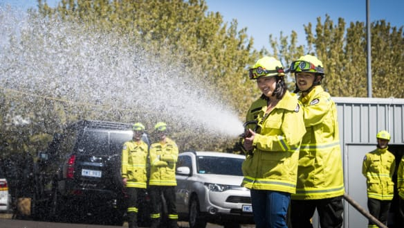 Here's what it takes to train as a seasonal firefighter