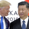 US President Donald Trump with Chinese President Xi Jinping in 2019 The Trump administration's China policies were probably the most antagonistic of any US presidency since the height of the Cold War in the 1960s.