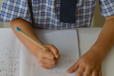 Younger children do not need to do a full six hours of school lessons at home