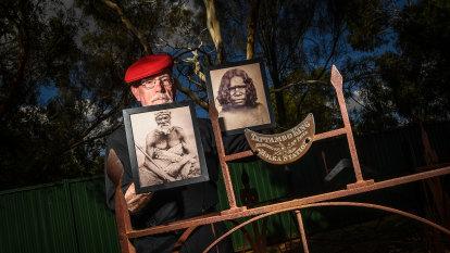 'Stolen' ancestors in Aboriginal land grab