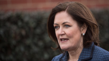 Sarah Henderson wins the battle to replace Mitch Fifield in the Senate