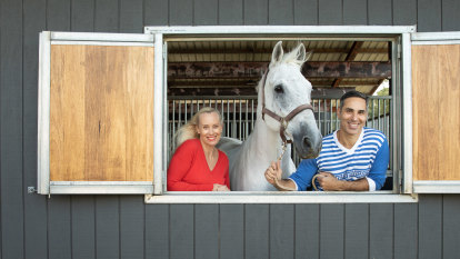 'He came home with three horses': how this creative couple still surprise each other