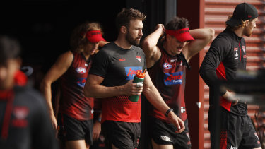Cale Hooker could return this weekend for the Bombers.