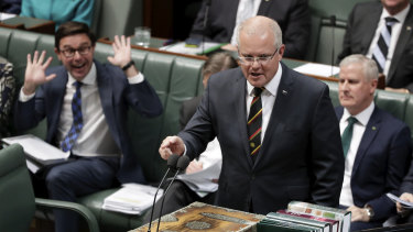 Prime Minister Scott Morrison has warned his MPs not to freelance on policy, telling them it is disrespectful.