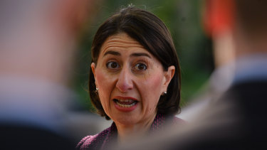 NSW Premier Gladys Berejiklian announced the locations of seven new train stations for the metro line on Monday.