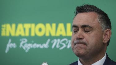 "NSW Deputy Premier John Barilaro said his federal colleagues should ""just shut up""."